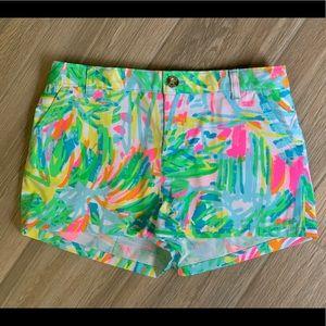 Lilly Pulitzer Mini Callahan shorts. NWT sz14